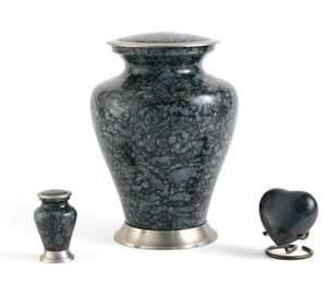 Glenwood Grey Marble Cremation Urn