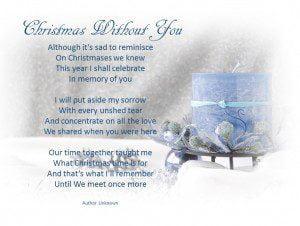 Christmas Without You.Christmas Without You Swanborough Funerals