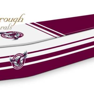 Manly-Warringah Sea Eagles Coffin