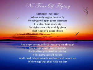 Funeral Poem No Fear of Flying - Swanborough Funerals