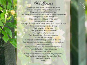 We Grieve