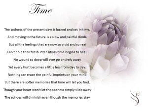 Grief Poem Time Swanborough Funerals