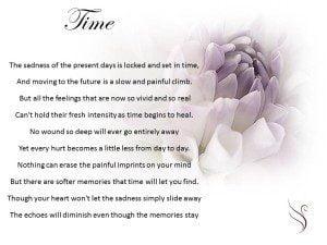 Grief Poem Time - Swanborough Funerals