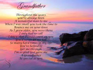Funeral Poem Grandfather Swanborough Funerals