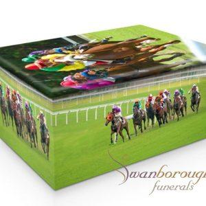 horse racing urn