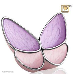 Wings of Hope Lavender Keepsake Urn