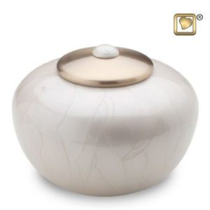Simplicity Pearl Cremation Urn