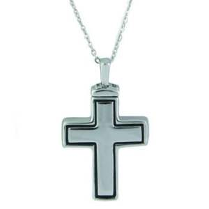 Large Cross Ash Pendant
