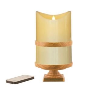 Wood Grain Remembrance Candle