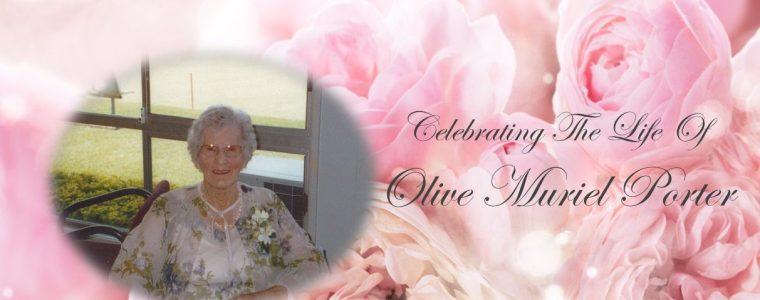 Olive Muriel Porter