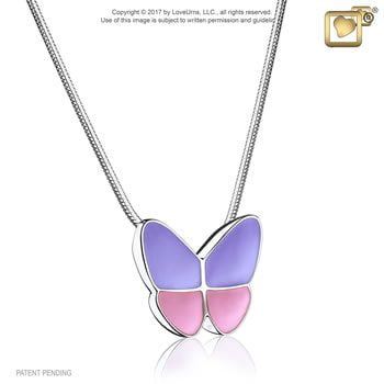 Butterfly Wings Ashes Pendant