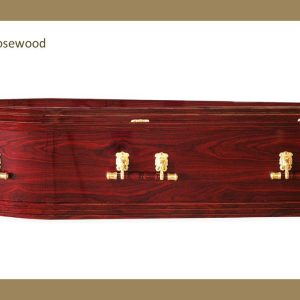 Allambee Rosewood Coffin