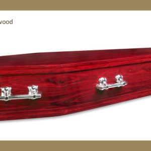 Allora Rosewood Coffin