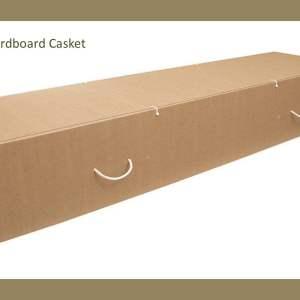 Bioboard Cardboard Casket