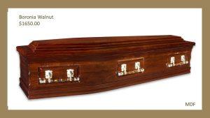 Boronia Walnut Coffin