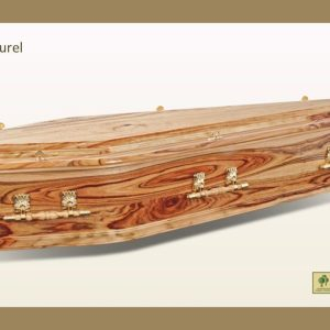 Camphor Laurel Solid Timber Coffin