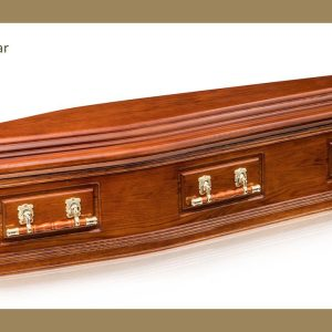 Jindera Solid Cedar Coffin