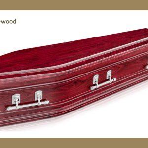 Marlee Rosewood coffin