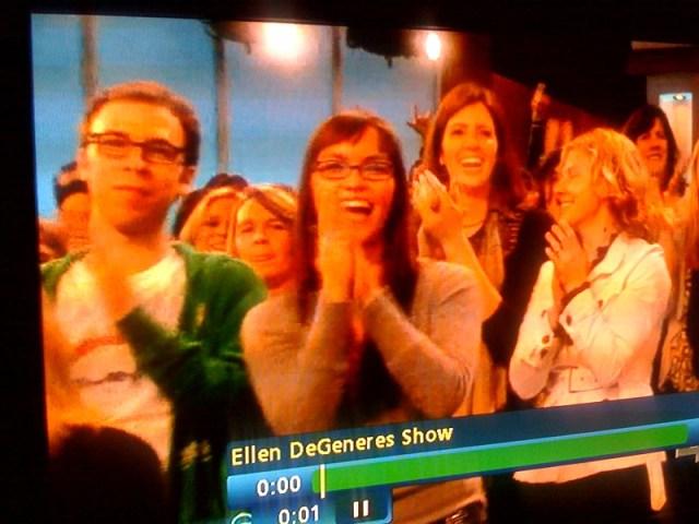 The Ellen Degeneres Show screen grab