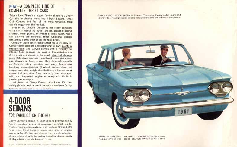 61 Corvair Catalog