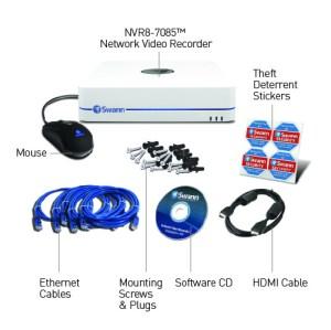 NVR87085 home surveillance systems & 4 security cameras USA