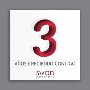 tercer aniversario Swan Partners