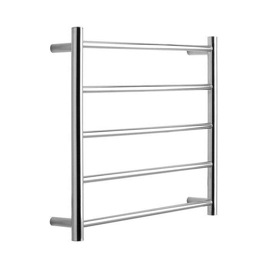 Bathroom Heated Towel Rack Rail 5 Bars Ladder Electric