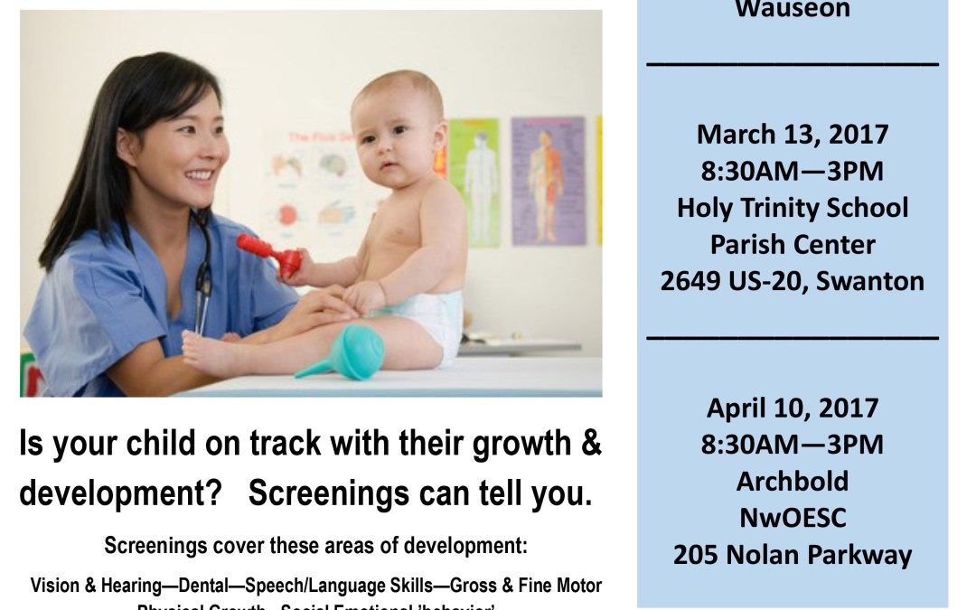 Free Developmental Screening