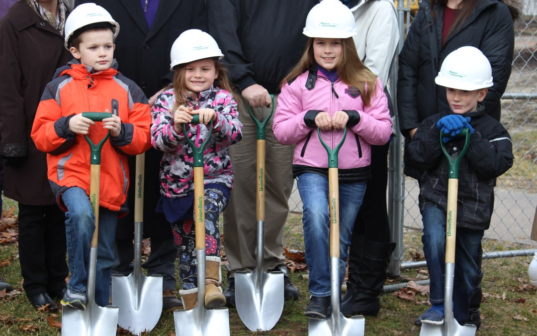 District Celebrates With Groundbreaking