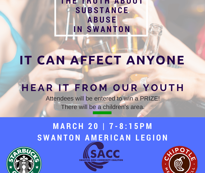 SACC March Town Hall - Substance Abuse