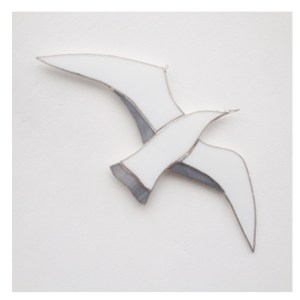 soaring gull