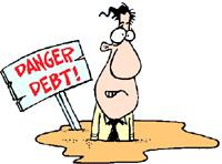 Danger - Debt!