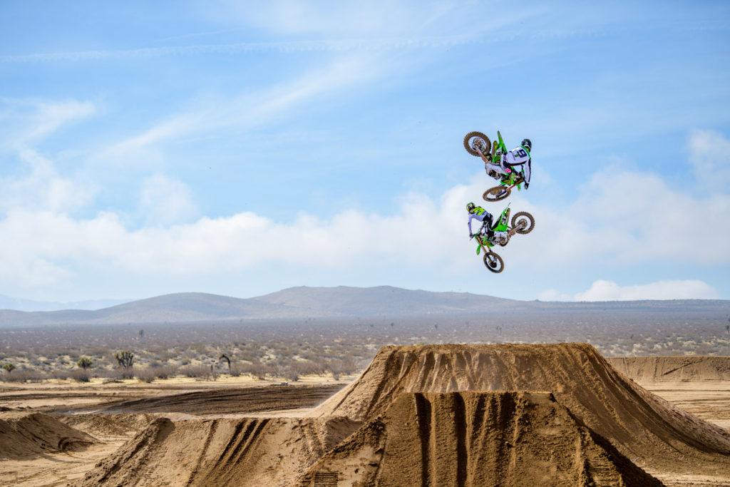 2020 monster energy kawasaki motocross photo shoot swapmoto live