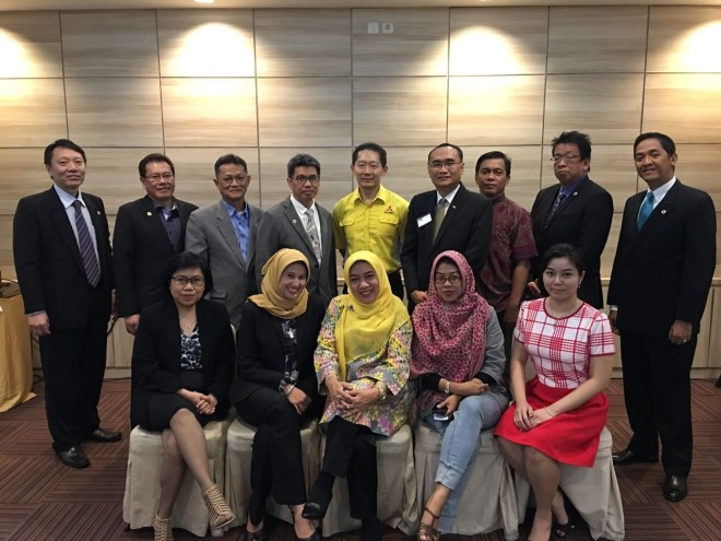 Meeting Mingguan Pioner Chapter BNI Indonesia di Belleza Hotel, Permata Hijau Jakarta