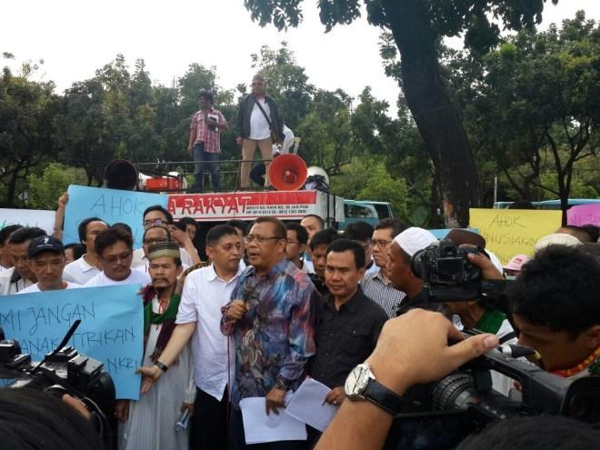 DR. Eggi Sudjana, SH., M.Si., Ketua Umum ARUN (Advokasi Rakyat Untuk Nusantara),