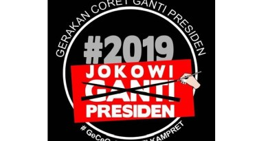 Politisi Hanura Memulai Gerakan Coret Ganti Presiden