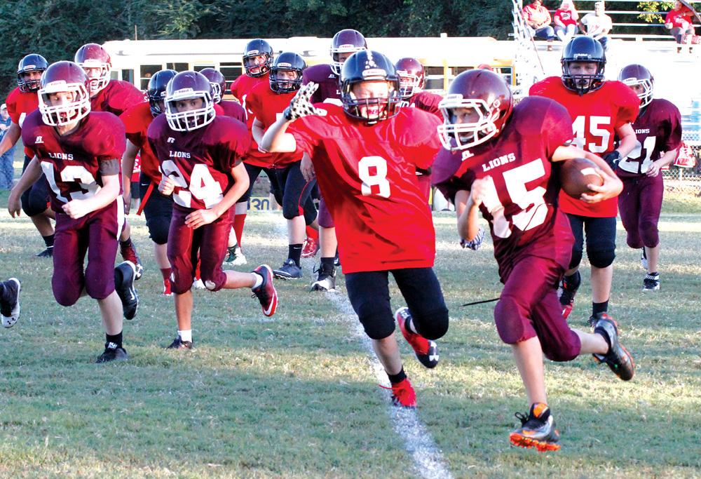 Mount Ida Versus Murfreesboro 7th Grade Highlights