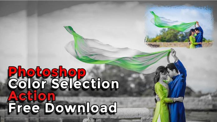 Color Selection Photoshop Action Free Download