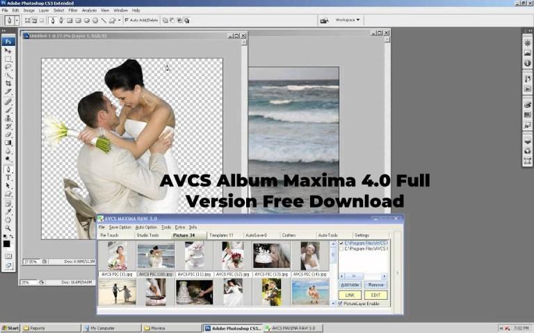 AVCS Album Maxima 4.0 Full Version Free Download