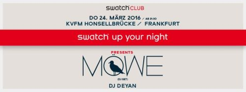 Swatch up your night!
