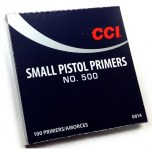 CCI No:500 Small Pistol Primers - SWATCO   Specialised Weapons & Ammunition