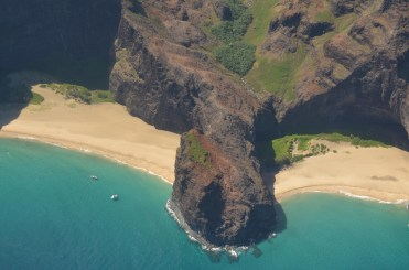 Beaches Under Na Pali Cliffs