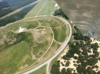 Flying Over First Flight Airport