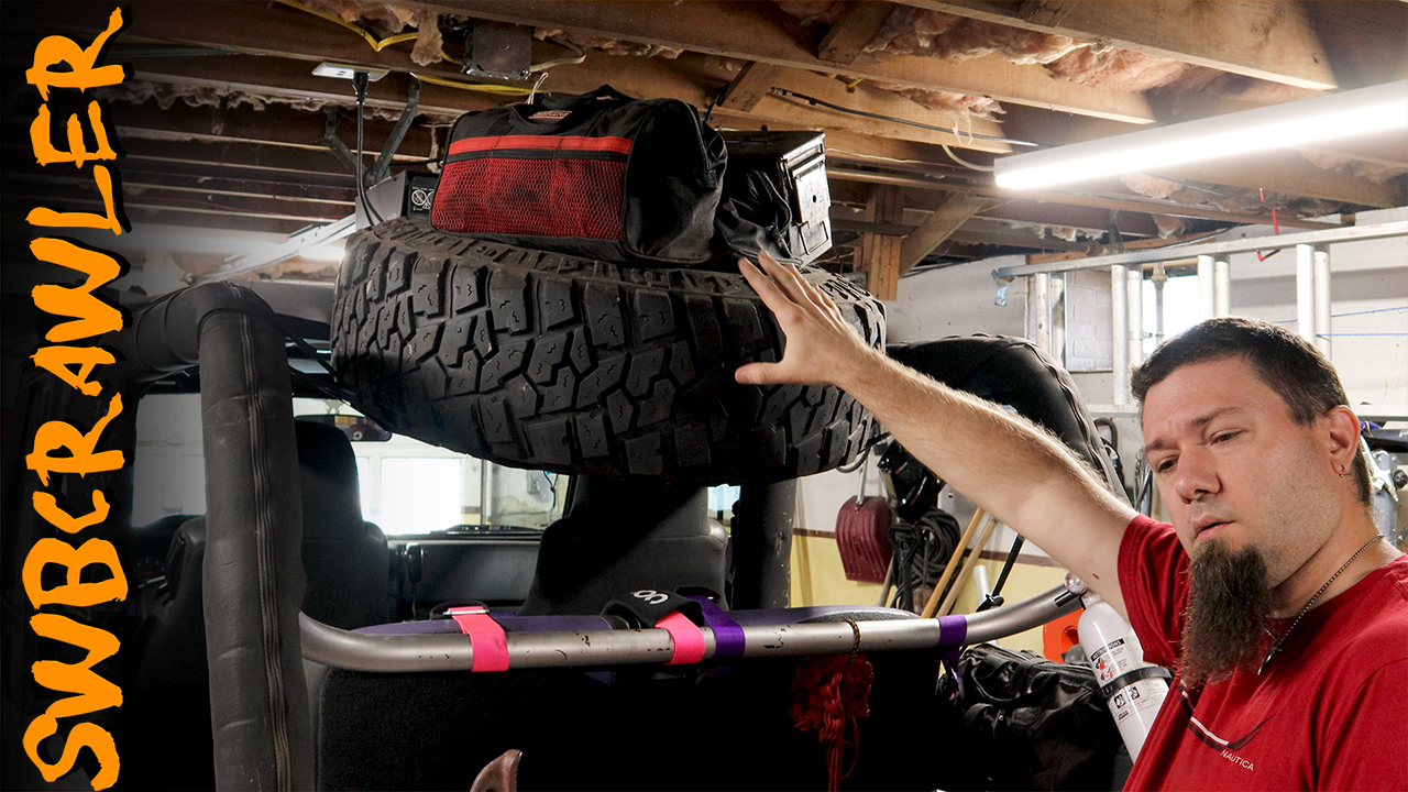 The joytutus cargo net for jeep wrangler