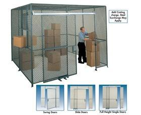 woven wire wire partitions spaceguard