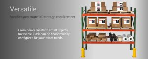 The Invincible Pallet Rack from Husky is an amazing example of a great pallet rack.