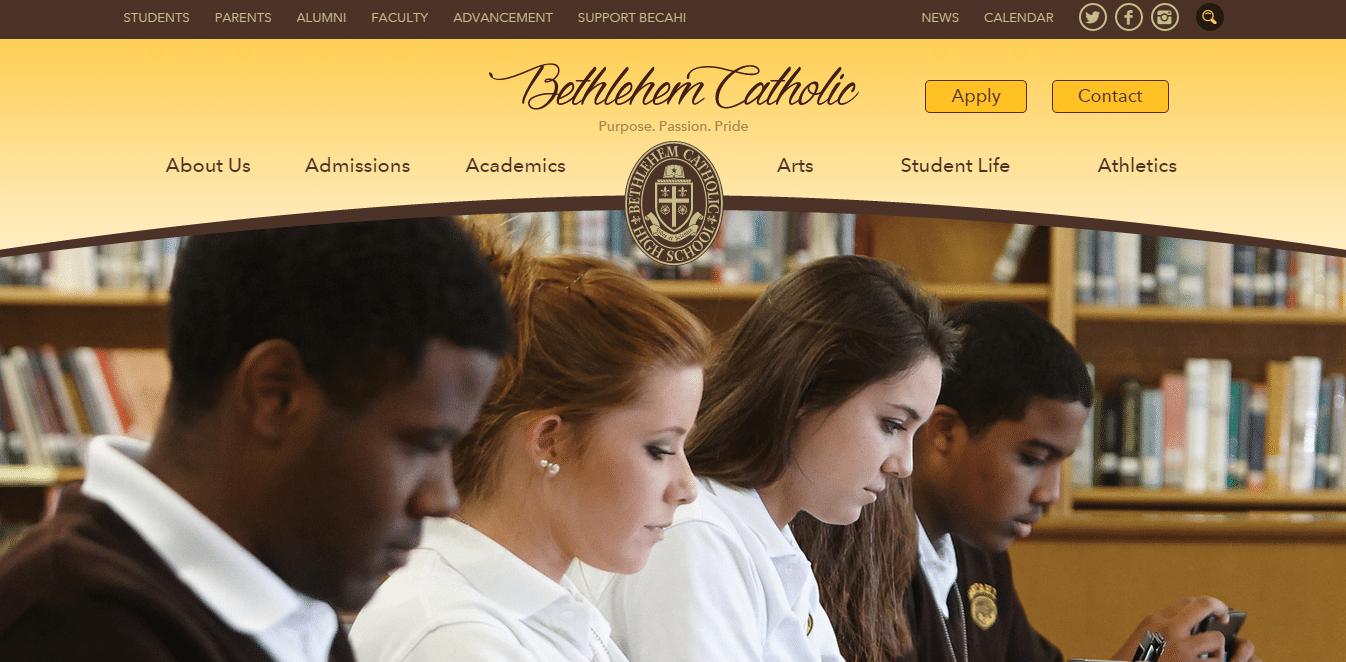 Screenshot of becahi.org