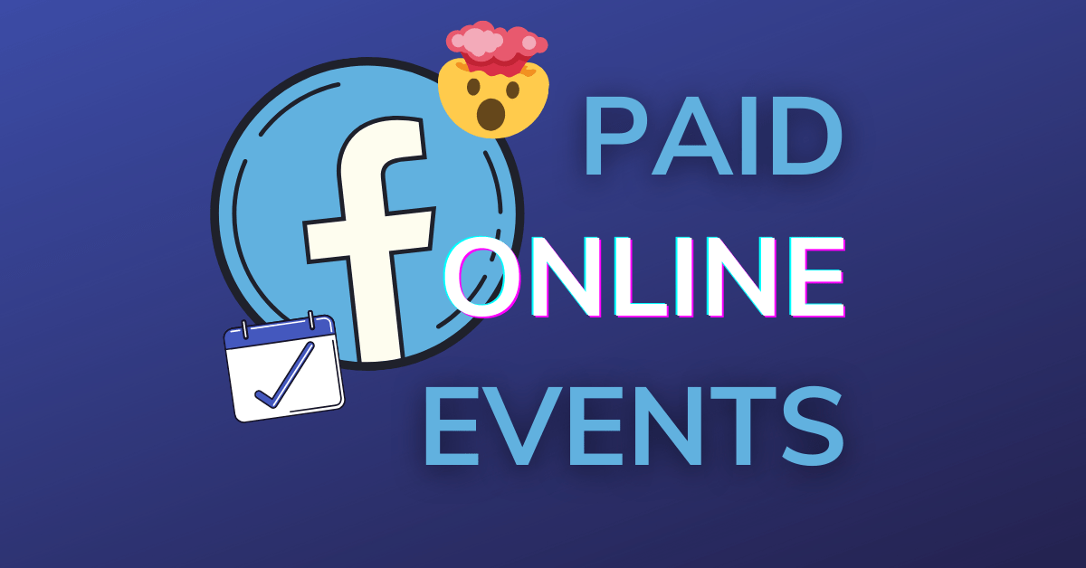 paid online events