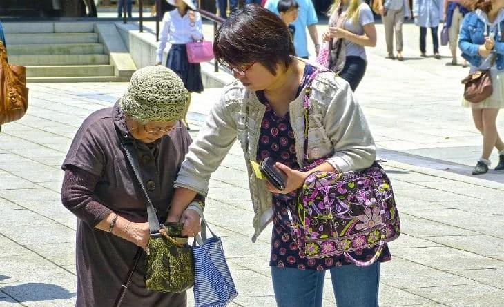 Японская тетя