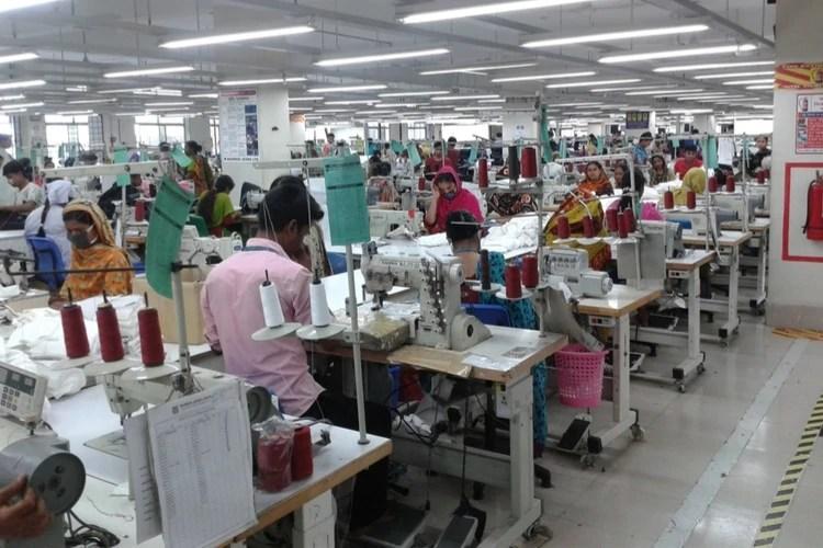 Bangladeshi clothing factory